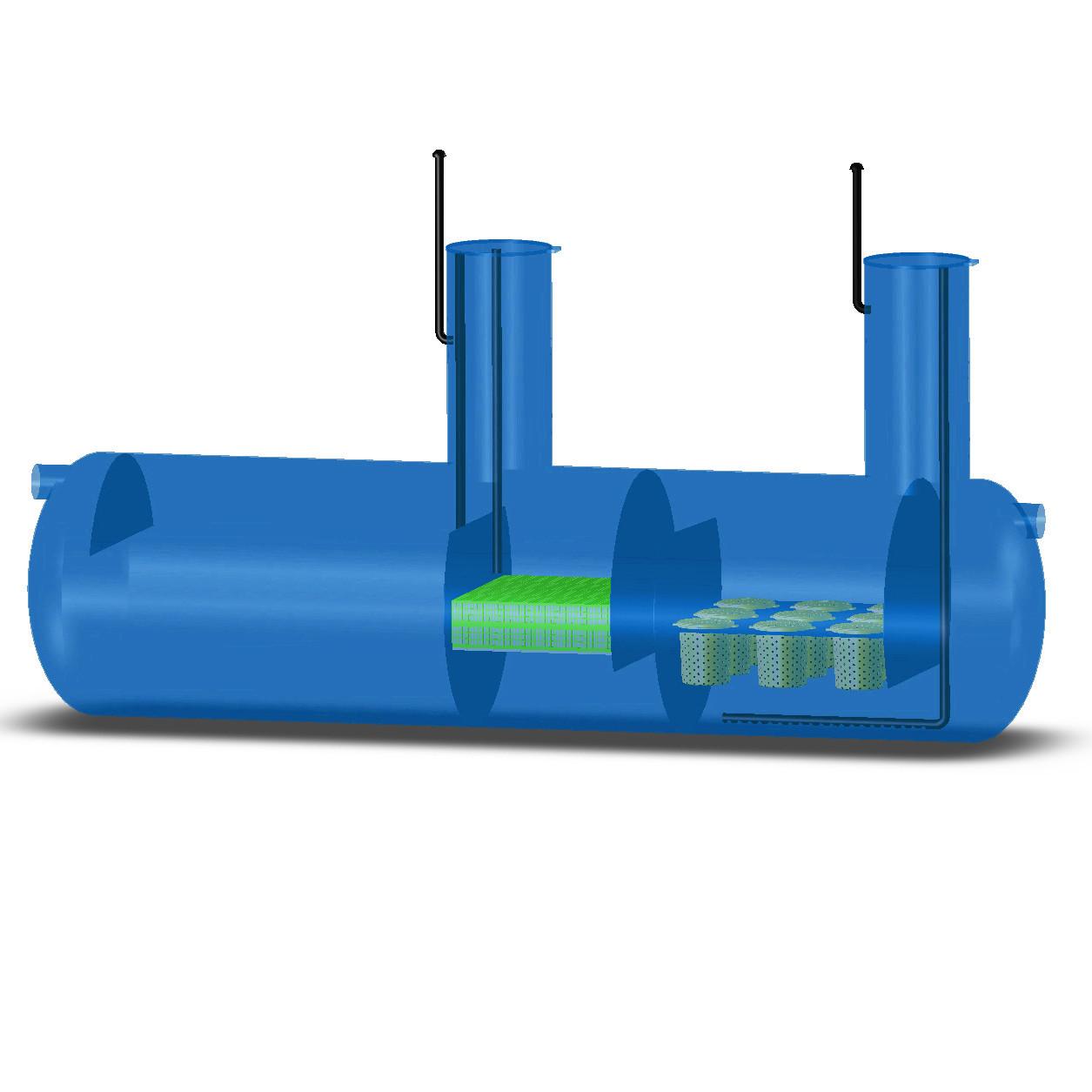 Комбинированный песконефтеуловитель КПН-1000