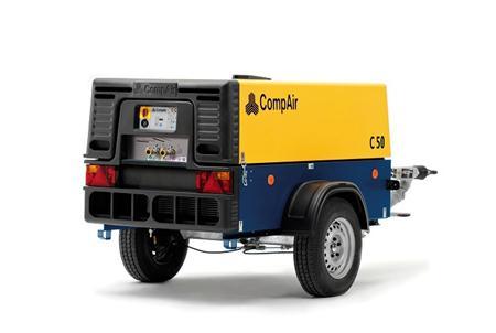 Компрессор дизельный CompAir С50