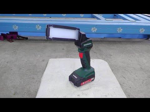 АККУМУЛЯТОРНЫЙ ФОНАРЬ Metabo POWERMAXX SLA LED (600369000)