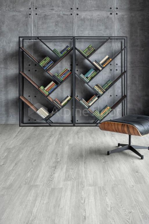 Кварц-виниловая плитка Alpine Floor Секвойя Снежная ЕСО6-8