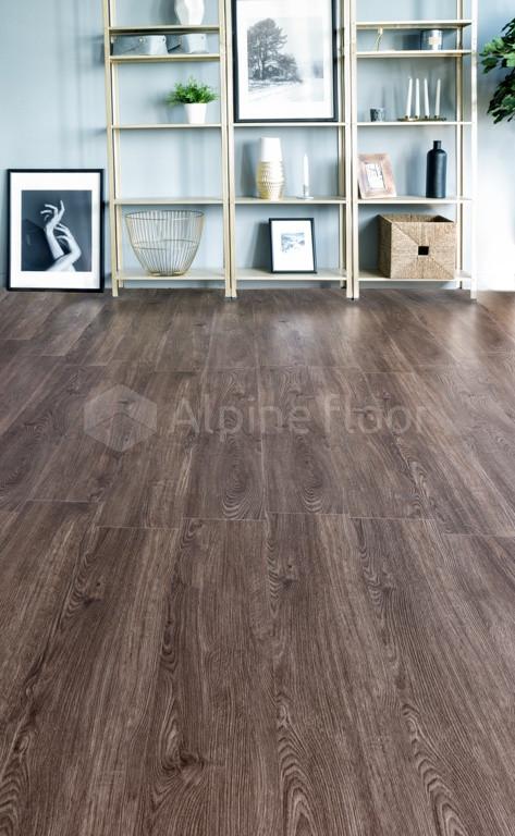 Кварц-виниловая плитка Alpine Floor Секвойя Рустикальная ЕСО6-11