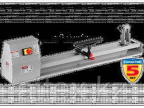 Станок токарный по дереву, ЗУБР ЗСТД-350-1000, 4 скорости, длина 1000 мм, d 350 мм, 350 Вт