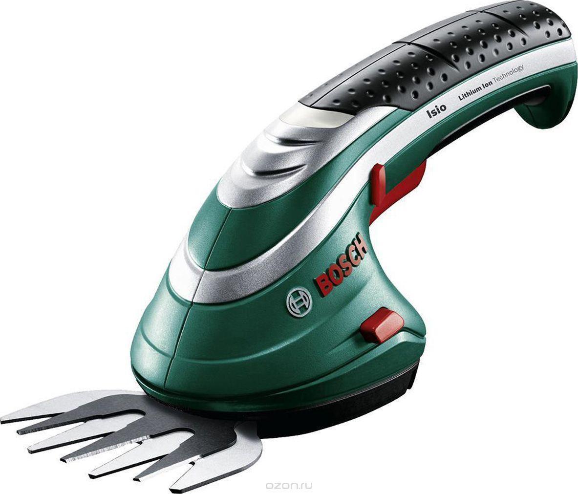 Аккумуляторные ножницы для травы и кустов Bosch ISIO 3