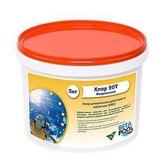 Хлор 90ТМ (таб 200 гр) упаковка 1 кг