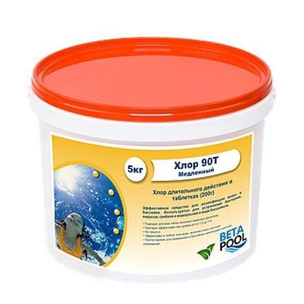 Хлор 90ТМ (таб 20 гр) упаковка 1 кг, фото 2
