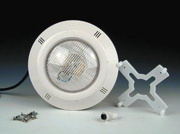Прожектор накладной, 100Вт/12В, облицовка из пластика, для бетона В-040