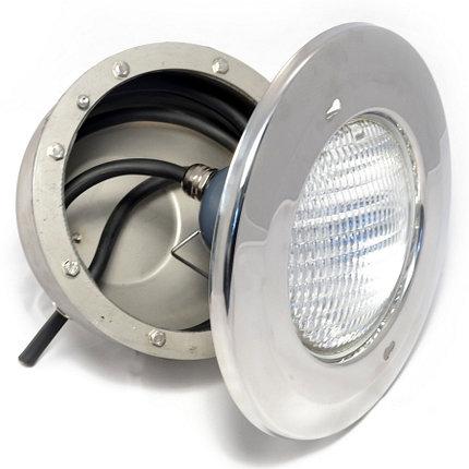 Прожектор накладной, 150Вт/12В, облицовка из нерж.стали. 200, фото 2