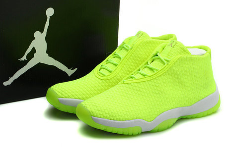 Баскетбольные кроссовки Nike Air Jordan 11 Future зеленые, фото 2