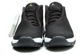 Баскетбольные кроссовки Nike Air Jordan 11 Future черные, фото 2