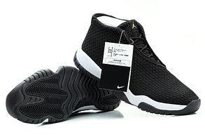 Баскетбольные кроссовки Nike Air Jordan 11 Future черные, фото 3