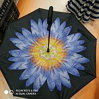 Зонт-наоборот, василек
