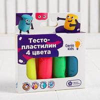 Набор для детской лепки 'Тесто-пластилин 4 цвета'