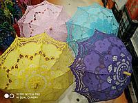 Женский зонт, узорный