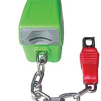 Замок-монетоприемник пластиковый для тележки покупательской арт. TPZP, фото 1