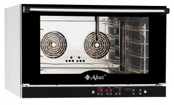Конвекционная печь КЭП-4П, 4 уровня, 400х600 мм, нерж. камера, нерж. корпус, электронная панель, пароувлажнени