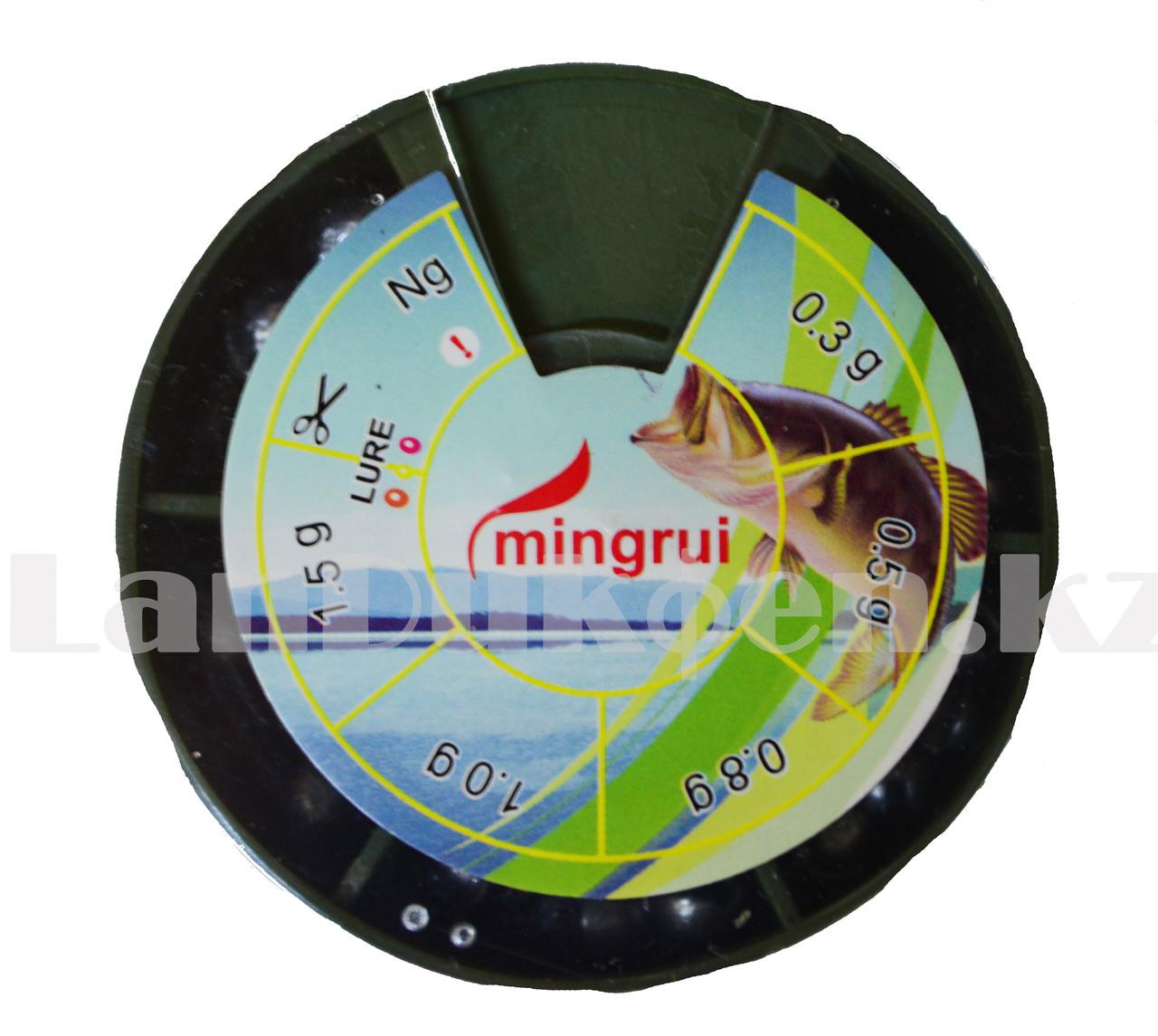 Набор грузил дробинок для рыбалки 0.3 - 1.5 г Mingrui - фото 1
