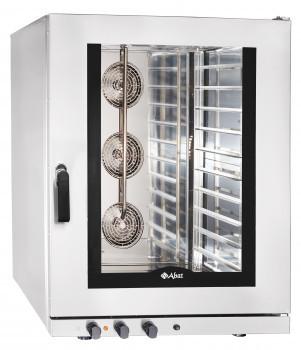 Конвекционная печь КЭП-10П, 10 уровней, 400х600 мм, нерж. камера, нерж. корпус, электронная панель, пароувлажн
