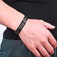 Магнитный браслет Черный Султан, фото 6