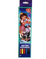 Карандаши цветные Enchantimals, 6 цветов