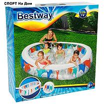 Надувной бассейн BestWay 54066 (Габариты: 229 х 152 х 51см, на 542 литра ) , фото 3