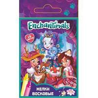 Мелки восковые Enchantimals, 16 цветов
