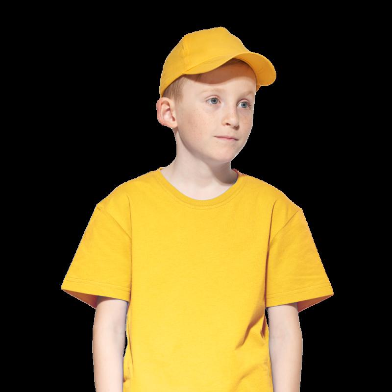Детская промо бейсболка, StanClassicTeens, 10JU, Жёлтый (12), 52-54