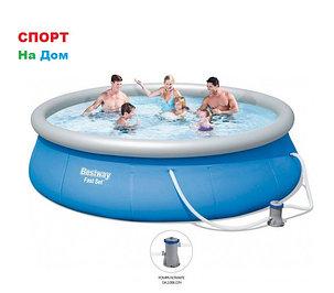 Большой надувной бассейн Bestway 57321 (Габариты: 396 х 84 см, на 7340 литров), фото 2