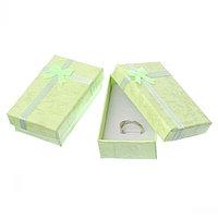 Подарочная упаковка зеленая