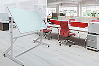 Поворотная стеклянная доска 1000*2000мм., на колесиках ASKELL, фото 2
