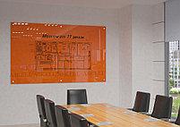 Доска стекло-маркерная, 1000х1500 мм, настенная, c внешними креплениями (STANDART) ASKELL, фото 2