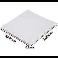 Термопрокладка 100х100х0.5 мм белая