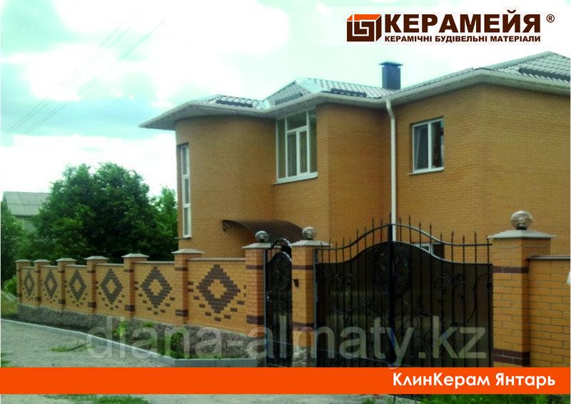Клинкерный кирпич Янтарь Керамейя 250х60х65