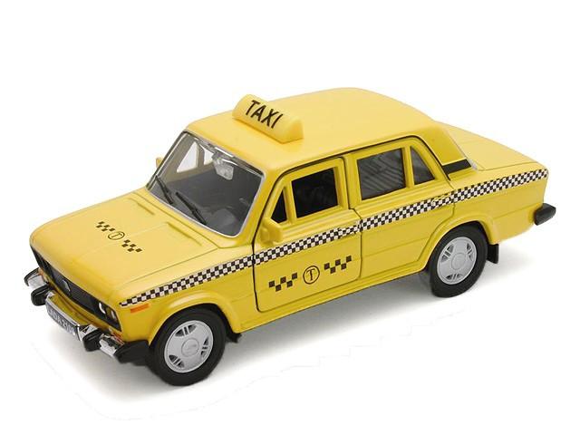 1/34 Welly Lada 2106 Такси