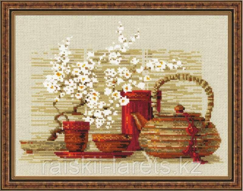 """Набор для вышивания крестом """"Чай""""  1122"""