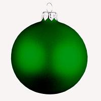 Шар новогодний MATT, Зеленый, -, 66000 15