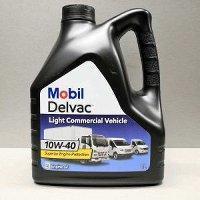 Моторное масло для коммерческого транспорта MOBIL DELVAC LCV 10W40  4 литра