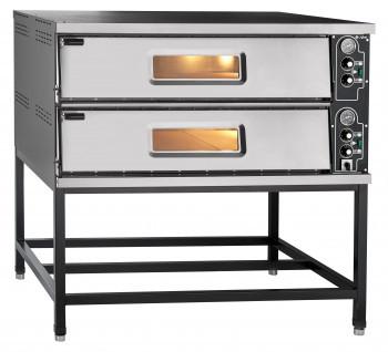 Печь электрическая для пиццы ПЭП-6х2, 2 камеры, размеры каждой камеры 1050x780x176(153) мм, вместимость каждой