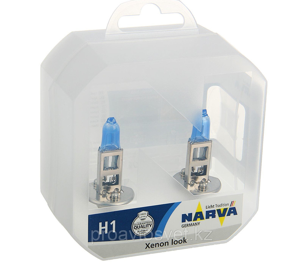 Галогенные лампы Narva H1 Range Power White