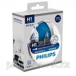 Галогенные лампы Phillips H1 W5W 12258 White Vision 12v s2