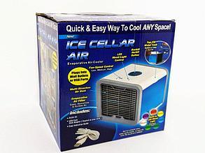 Мини вентилятор Ice cellar air (компактный персональный охладитель воздуха), фото 2