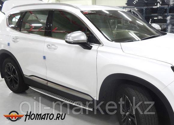 Пороги, Original Style,  для Hyundai Santa Fe (2018-)