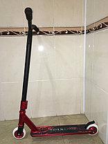 Трюковый самокат SPORT Black-Red со стальными колесами, фото 2