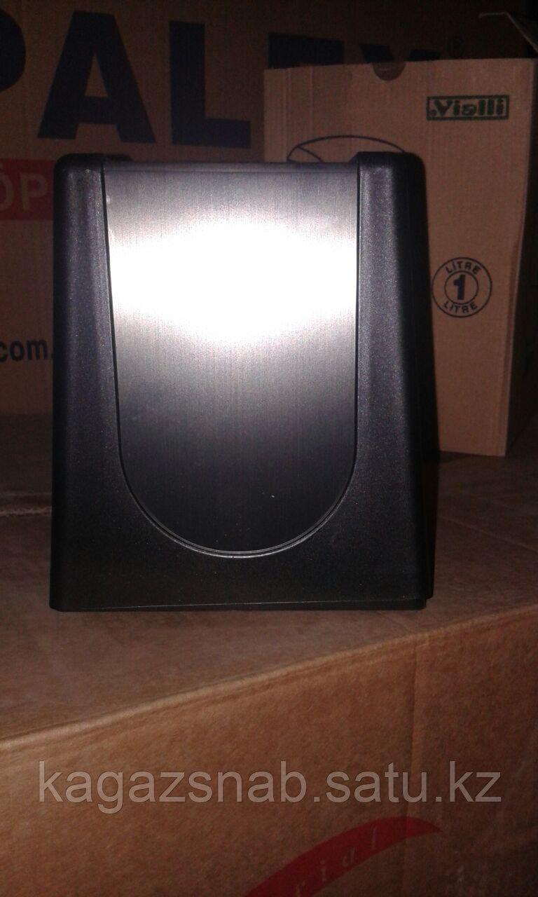 Диспенсер для салфеток настольный (0680 черный серебро) - фото 3