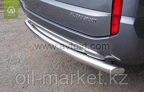 Защита заднего бампера, круглая для  Mitsubishi Pajero Sport (2016-), фото 2