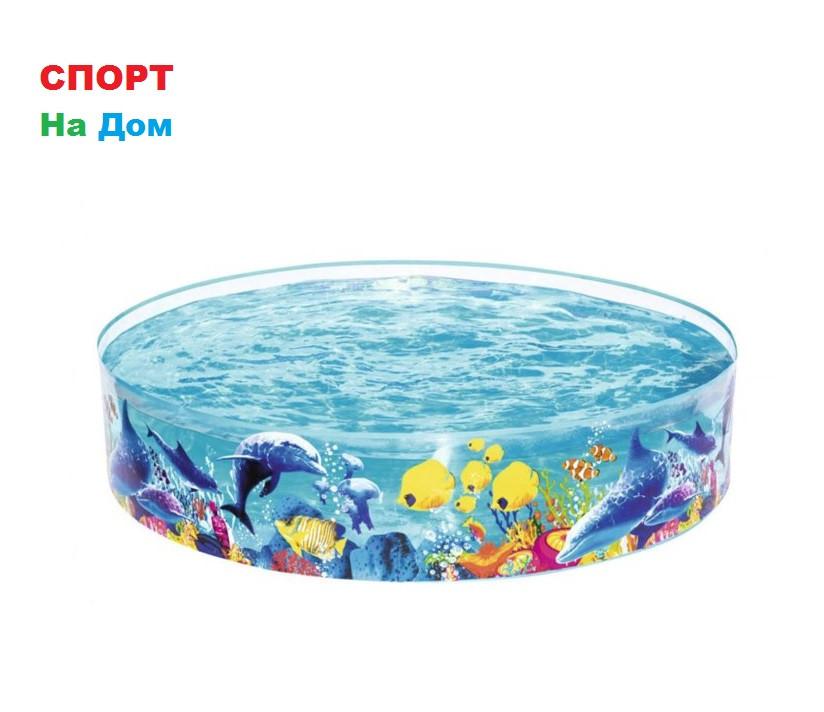 Детский бассейн распорный «Морская Одиссея» Bestway 55030 (Габариты: 183 х 38 см, на 946 литров )