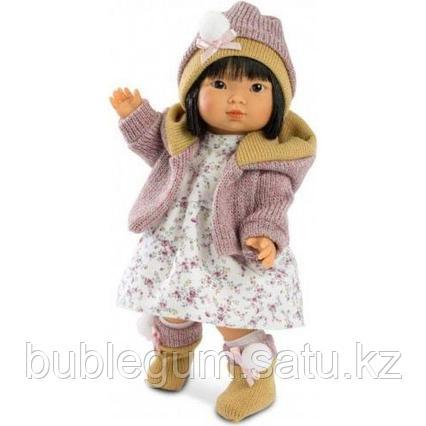 LLORENS: Кукла Валерия 28см, азиатка в курточке