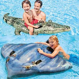 Игрушки надувные для плавания