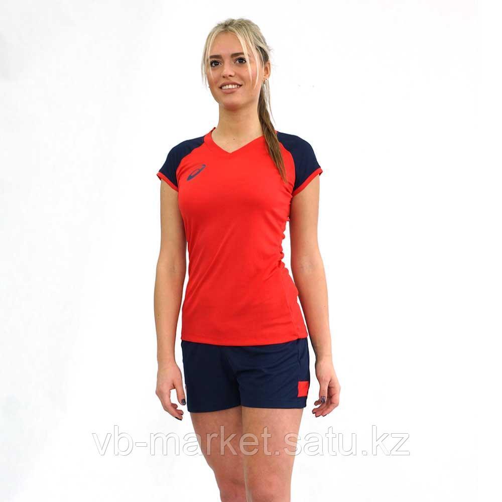 Женская волейбольная форма ASICSWOMAN VOLLEYBALL CAP SLEEVE SET