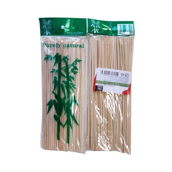 Палочки д/шашлыка, d 2.5мм, 200мм, бамбук, 100 шт