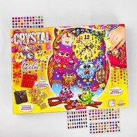 Набор креативного творчества 'Настольные часы своими руками' серии Crystal Mosaic Clock CMC- 38512